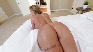 Hot MILF with immense buttocks and round boobs is screwed properly