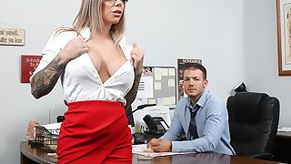 Obese Titty Office Chicks #06!!!