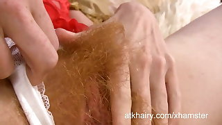 Zia loves animalistic hairy increased by fingering say no to pussy
