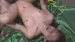 Japanese Teen Fingering On Couch