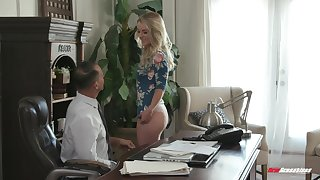 Mart Kate Kennedy gets double penetrated handy a vocation interview