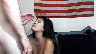 Ai Komori hot mature Asian babe is an amateur on touching hardcore 69