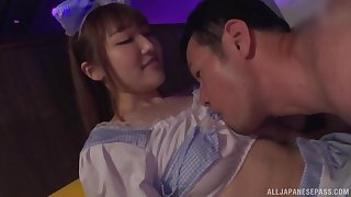 costumed plus clothed sex Arihara Ayumi loves more than anything else