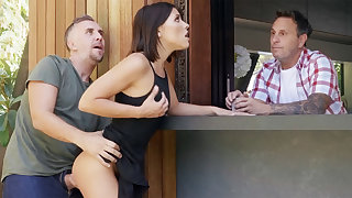 Neighbor fucked babe anal by way of offer