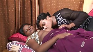 Poonam Going to bed With Raju In Our Nobs Indian Sex Movie