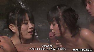 Far-out Japanese orgy with really voracious for orgasm Asakura Kotomi
