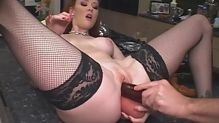 Curly Haired Bitch Audrey Fucks Ourselves  - audrey hollander