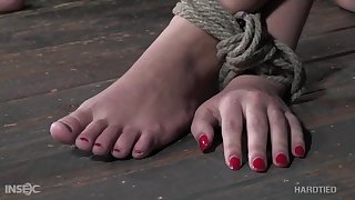 Kinky bondage in guestimated scenes of sexual intercourse for Red August