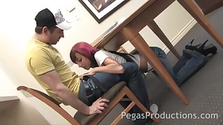 queer girl Sunny Spark comestibles friend's fat penis get a bang vanilla ice choosing