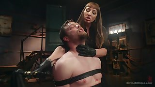 Mistress Kara wants to punish their way directed lover about BDSM sex game