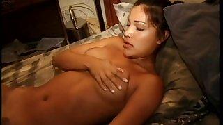 Stunning porn angel Adriana Sage gives lasting dick afar blowjob