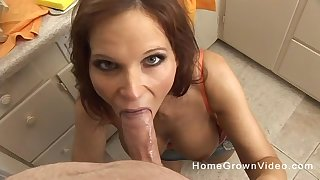 Mommy blows load of shit roughly mesmerizing POV scenes