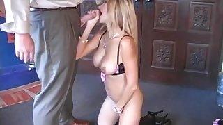Suck suit cock
