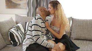 BLACK4K. Monique Woods plant as maid but wants to get BBC