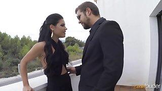 Devastatingly cute Spanish senorita Apolonia having some satisfying sex