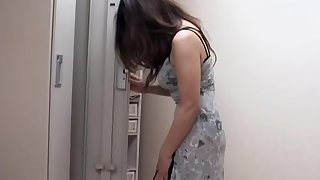 Free spycam sex massage video on every side blowjob and fuck session