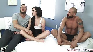 Jennifer White fucking in the bedroom with will not hear of small soul