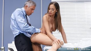 Piercing mating video featuring Mick Blue and Desiree Dulce