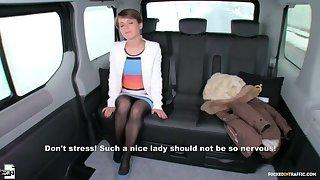Petite Ukrainian spoil Sasha Zima gets cum atop pussy in hot calling fuck